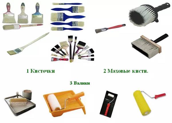 Инструменты для отделочных работ