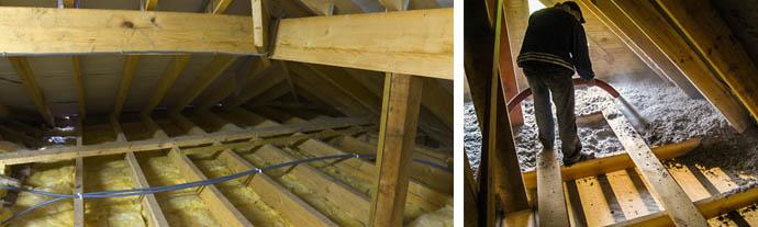 Как и чем утеплить потолок в холодном доме