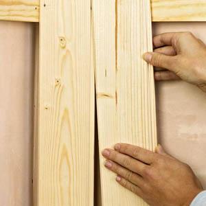 Как правильно монтировать вагонку на стены