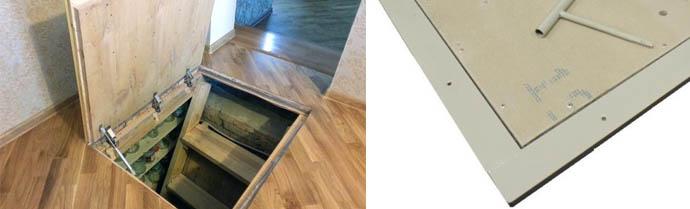 Какой выбрать люк для подполья и глубокого погреба