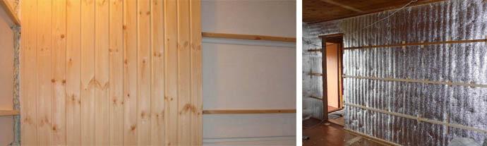 Обрешетка для деревянной отделки