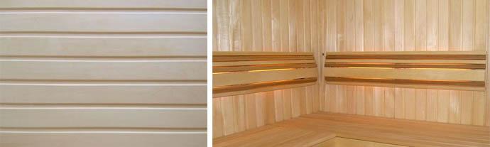 Осиновые панели для обшивки сауны или бани