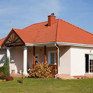 Отделка и фото фасадов одноэтажных частных домов