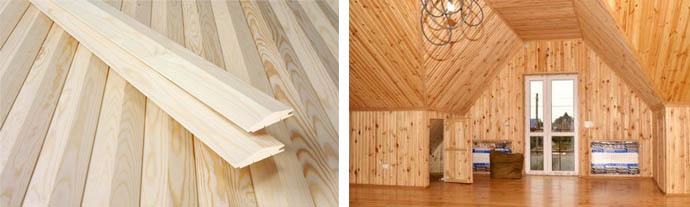 Отделочные панели из дерева издавна используются для производства вагонки