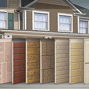 Панели для облицовки фасада частного дома