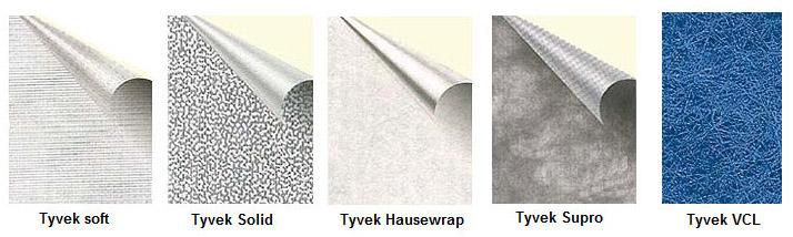 Паро- и гидроизоляция Tyvek