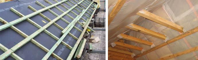 Пленки для изоляции крыши