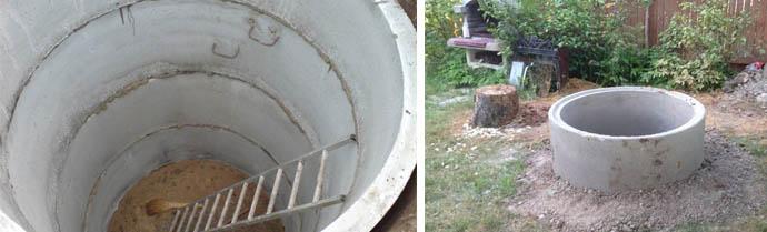 Погреб из ЖБИ изделий один из вариантов для дачи или загородного дома