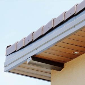 Применение софитов для подшивки крыши, размеры и стоимость