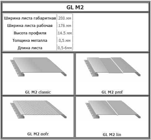 Размеры алюминиевых планок