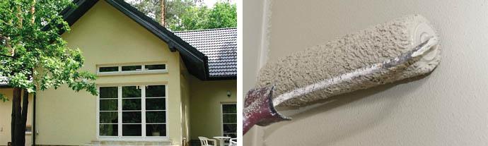 Сравнение силикатных и силиконовых красок для окрашивания фасада частного дома