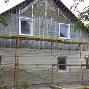 Стоимость обшивки частного дома сайдингом с теплоизоляцией