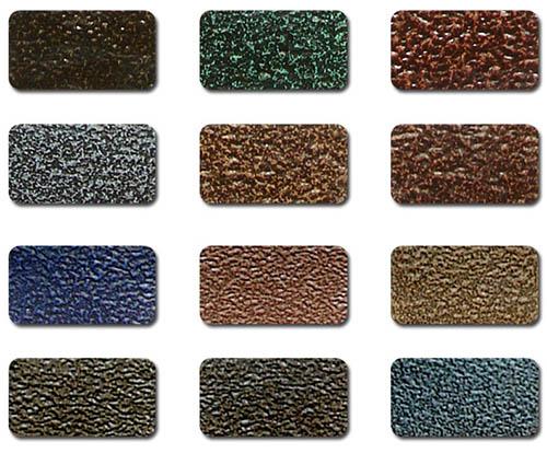 Текстура полимерной краски