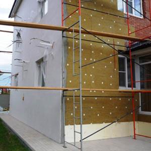 Технология монтажа мокрого фасада и цена работ за 1 м2