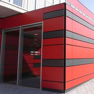Фасадные панели из композита