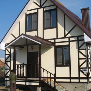 Фасады домов и коттеджей в финском стиле