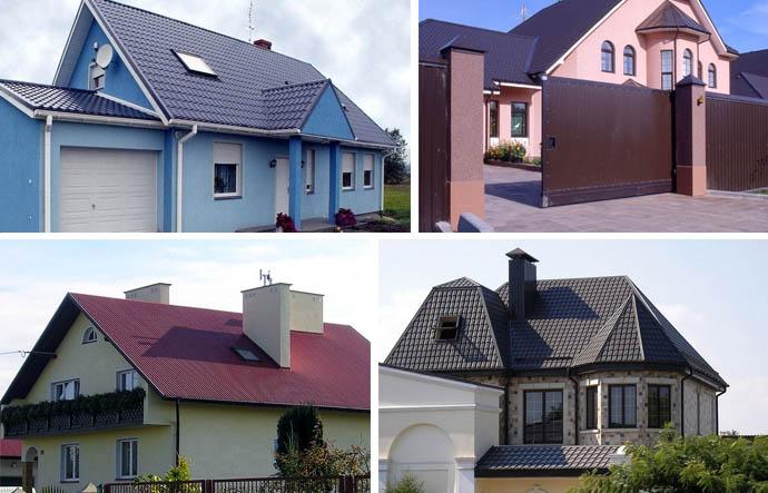 Фото отделки домов