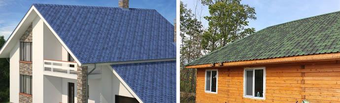 Цветная крыша