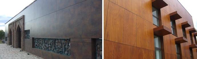 Что такое HPL пластик и панели высокого давления для монтажа на фасадах