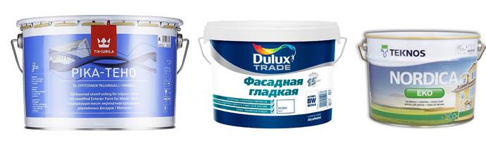 Tikkurila, Dulux и Teknos