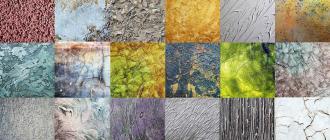 Использование фактурной краски для отделки стен