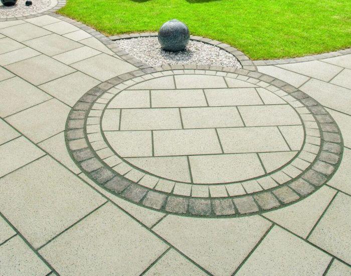 геометрические фигуры в дизайне тротуарной плитки