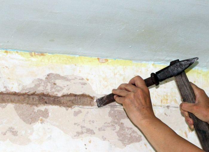 штробление стен под проводку своими руками