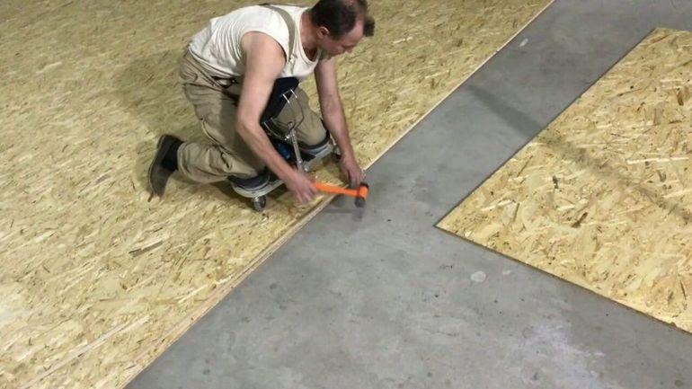 ОСБ плита на пол под линолеум