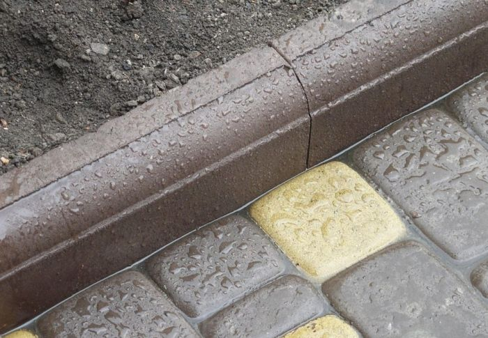 бетонные бордюры