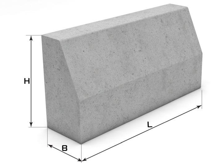 бордюрный камень размеры
