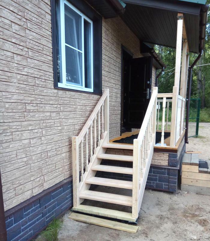 лестница для домика на даче
