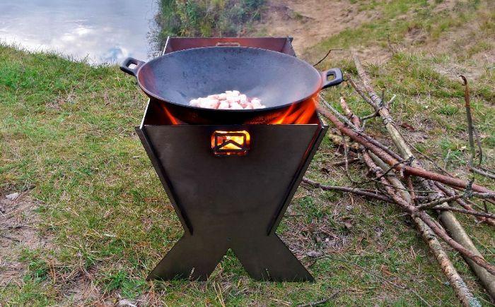 подстака-печь для казана