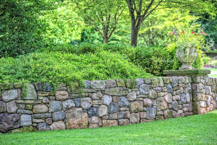 проектирование подпорных стен из камня