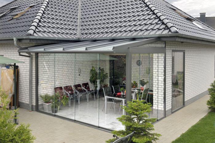 застекленная терраса с панорамными окнами