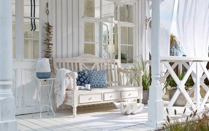 дизайн террасы в частном доме в стиле прованс